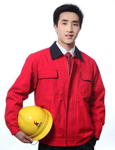 景德镇沃克迪威供应205款全棉套装工作服厂服