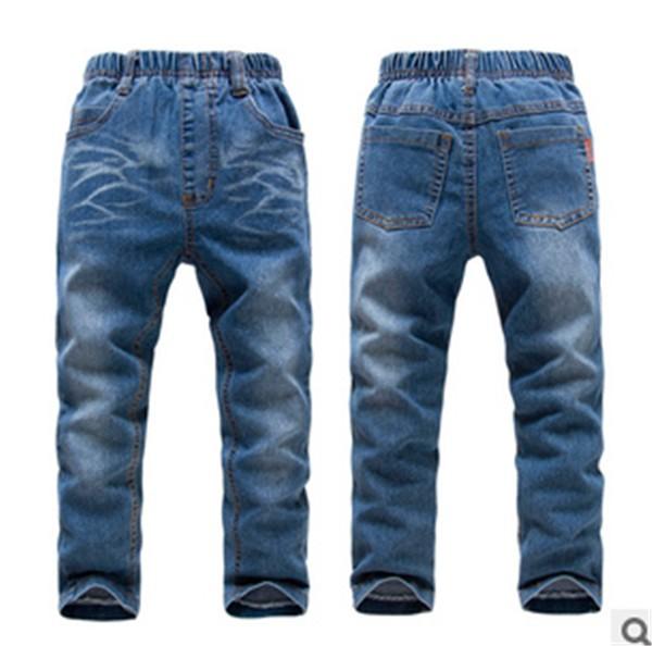 法国童裤批发弹力牛仔童裤 信誉好的弹力儿童牛仔裤哪有卖