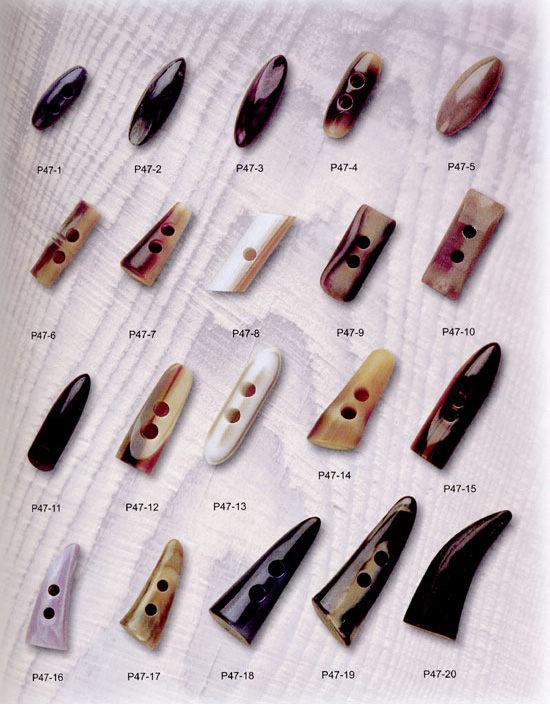 鸿鑫五金辅料专业提供销量最好的牛角扣,三明牛角扣