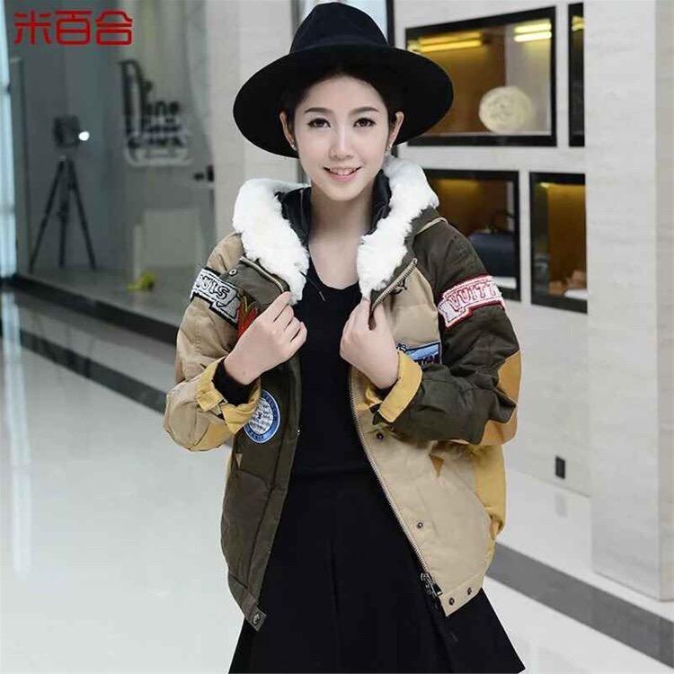 放牛班的春天羽绒服韩版大码品牌女装