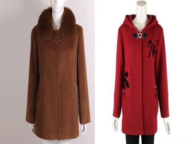 百色市最新中年女士服装批发,中年冬装价格范围
