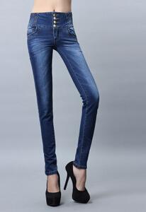 服装批发本仓库常年直供男女款牛仔裤