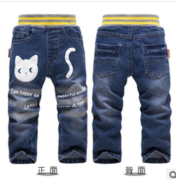 法国童裤批发中小童牛仔裤|划算的儿童牛仔长裤供应,就在概能童装贸易公司