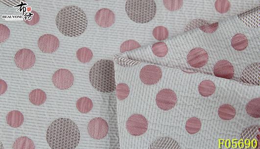 北京夏款圆点面料F05690布衣纺