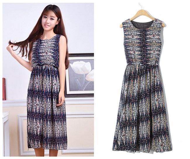 女装连衣裙夏季时尚女装连衣裙网店服装货源厂家直销短袖连衣裙拿货