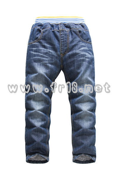 概能童装贸易公司品质好的法国KK兔品牌童装[供应]:儿童牛仔裤