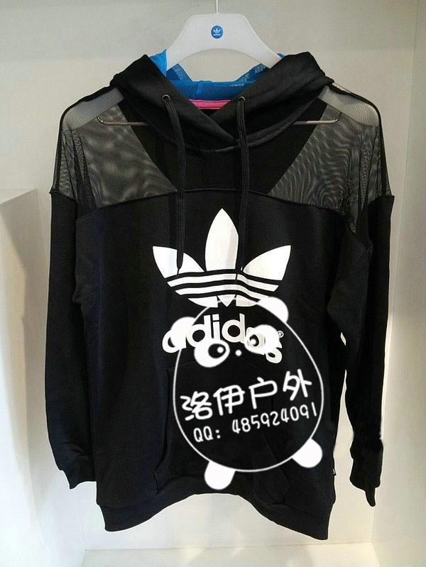 adidas三叶草折扣店——优秀的adidas女套头衫S11803供应商当属洛伊