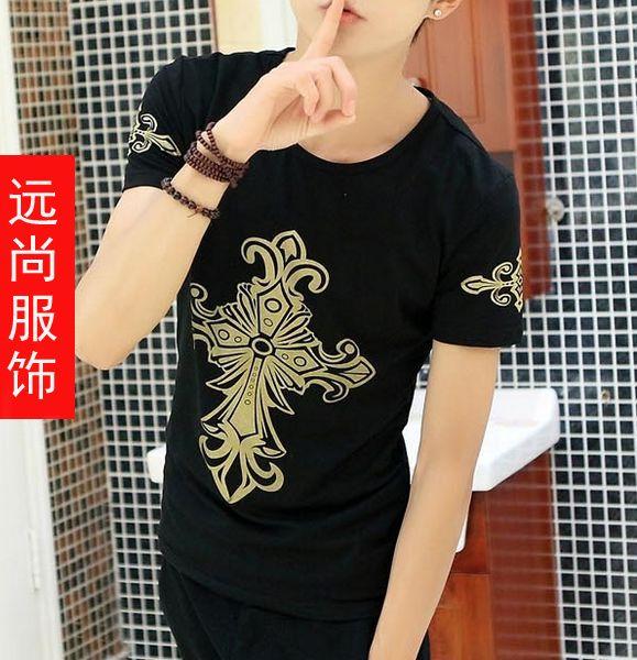 湖北汉正街新款T恤批发杭州四季青时尚短袖批发
