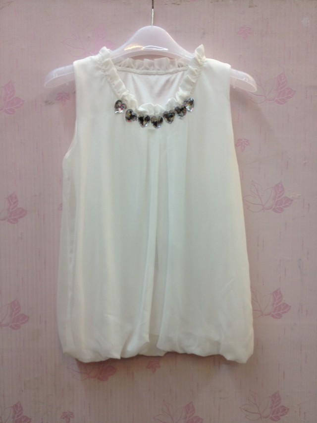 923新品韩版新款夏季女士时尚百搭印花t恤上衣衬衣短袖雪纺衫