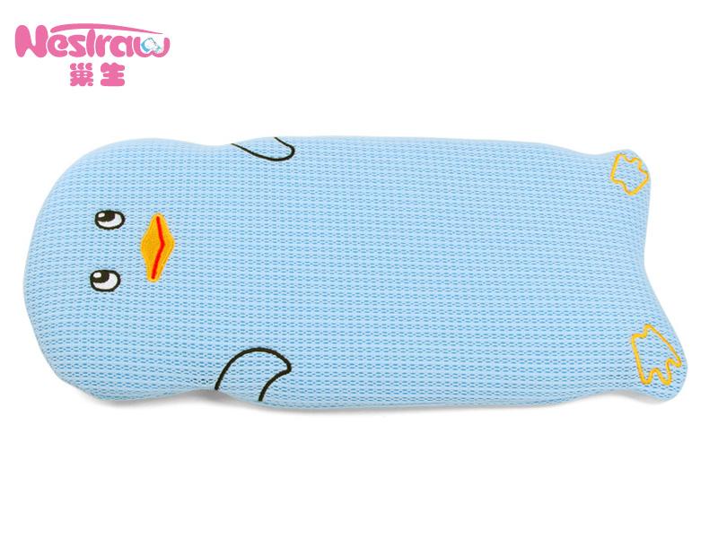 泉州新款婴儿枕头巢生【供应】_婴童企鹅卡通3D枕头动态