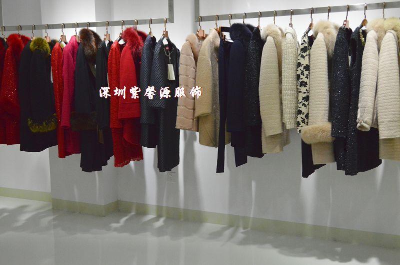 2015年秋冬大牌贵妇装到货,品牌折扣服装批发 折扣女装批发