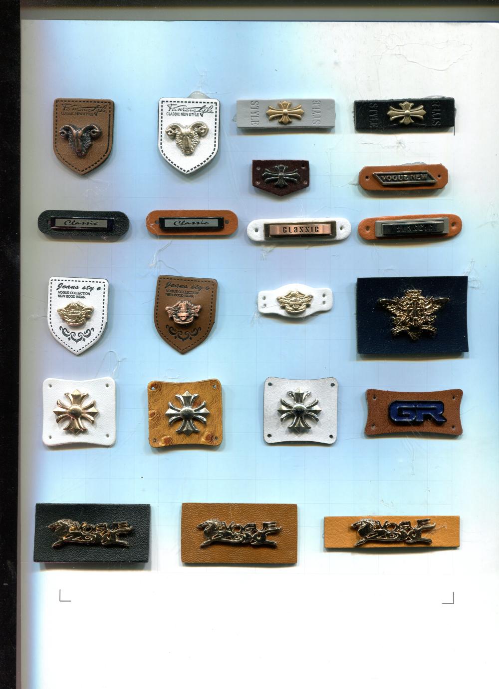 泉州供应服饰装饰商标|供求装饰标厂家