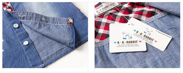 儿童牛仔衬衫代理加盟_高品质的男童格子衬衫出售