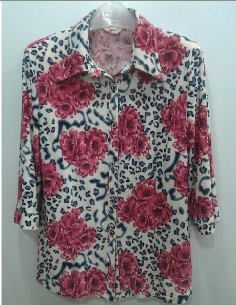 江门厂家直销超便宜中老年短袖T恤服装批发