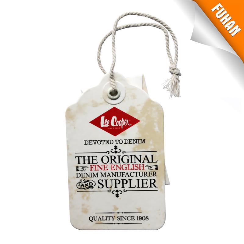 赋涵辅料供应好用的牛皮纸吊牌,品质保证牛皮纸吊牌
