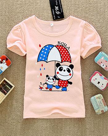 韩版童装批发市场低价童装T恤批发好看的夏季童装批发潮流童装批发