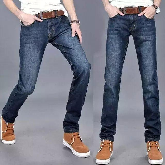 库存牛仔裤批发 时尚女式小脚牛仔裤