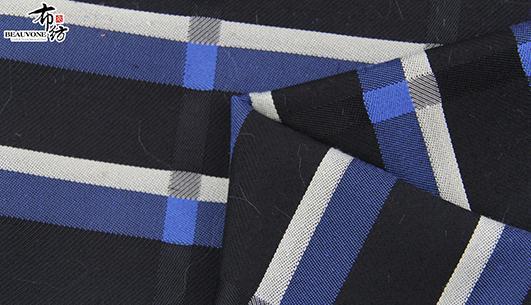 北京格子提花F05701布纺供应