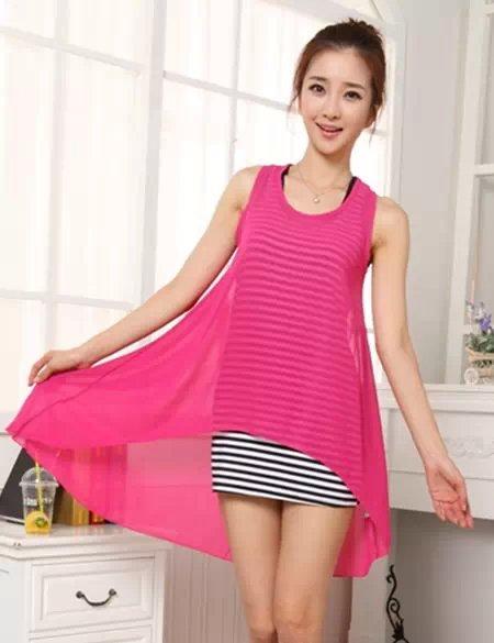 夏季最流行的韩版连衣裙女装批发工厂直销超低价