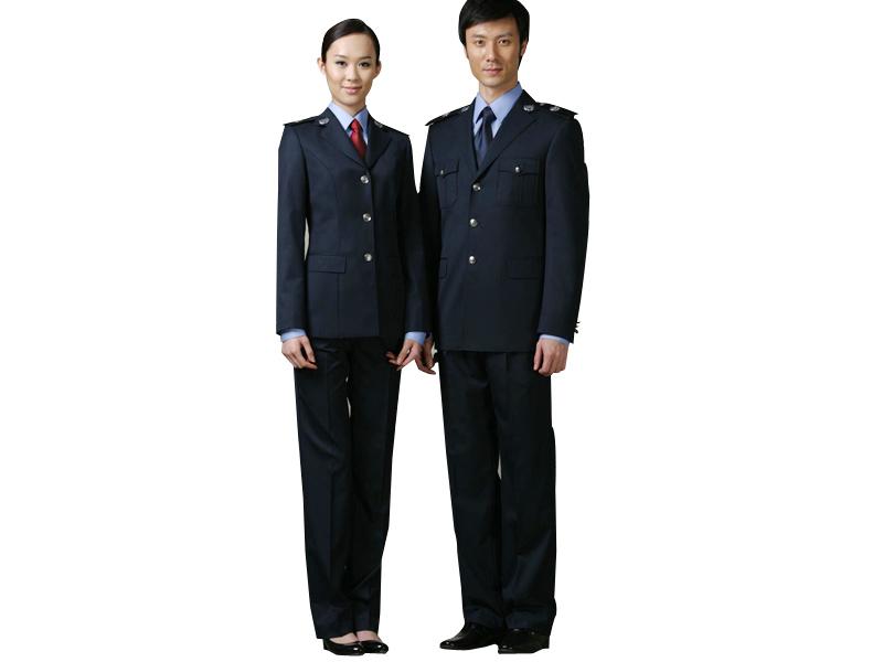山东保安服零售——可爱的安全监察标志服推荐