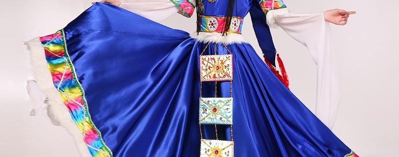 中国藏族服饰——鲜艳的藏族服饰推荐