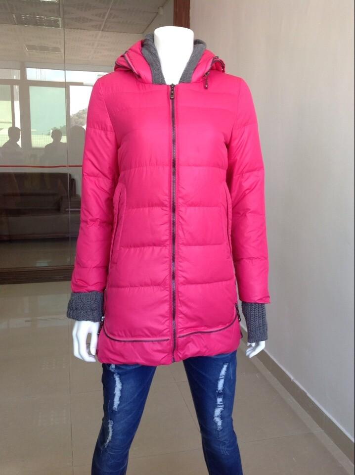 冬装淑女时尚女装羽绒服,品牌折扣,分份特价批发