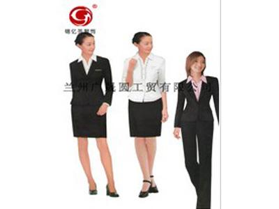 临夏回族自治州职业装定做公司_服务好的职业装定做就在锦亿圣服饰公司