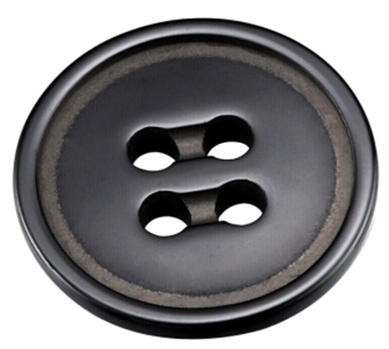 黑色陶瓷纽扣 专业纽扣定制 高档纽扣