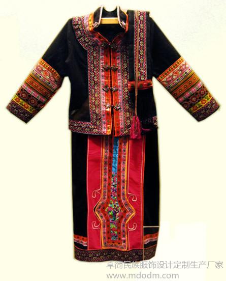 杭州市专业仡佬族服饰批发 少数民族服饰厂家直销