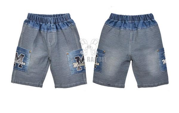 概能童装贸易公司供应新款儿童牛仔短裤:浙江牛仔短童裤