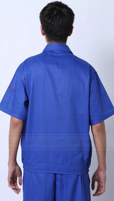 四川夏款精品工装定做 劳保工装定做 庞哲厂家直销工装劳保服