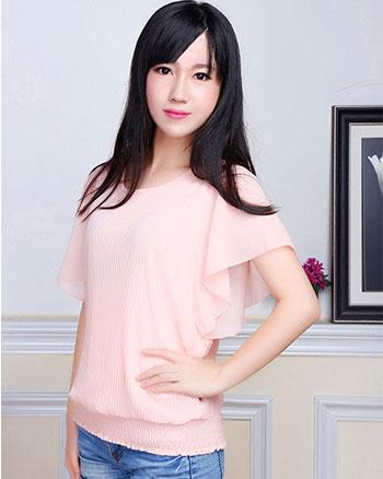 厂家直销韩版女装批发便宜女装上衣批发网韩版夏季女装上衣女装夏装批发市场