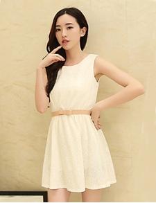 2015新款日韩风格甜美可爱连衣裙批发品牌服装批发