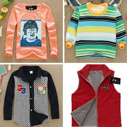 厂家北京最便宜童装批发哪里批发儿童秋装童装秋装批发市场