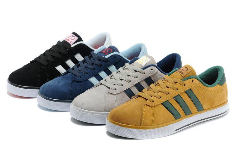 新款休闲板鞋 哪里有卖好看的阿迪达斯休闲运动鞋