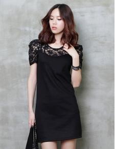 时尚韩版靓丽女装广东晓天服饰一手货源批发