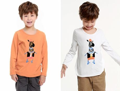 秋冬韩版童装厂家批发几元长袖T恤优质棉料服装批发市场进货