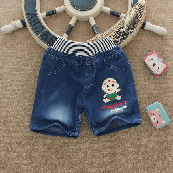 广东时尚童装短裤批发东莞儿童服装批发市场广州便宜童装T恤