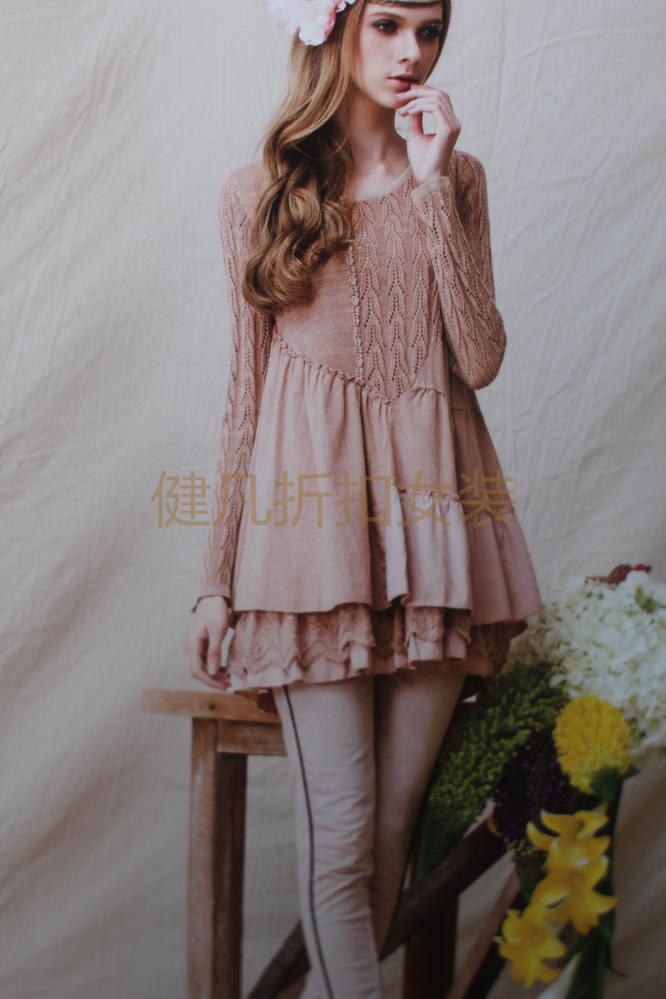 秋冬品牌女装棉麻毛衣羊毛衫大版毛衣批发