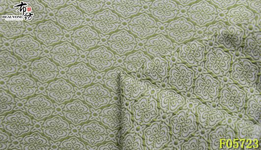 上海梭织提花面料F05723布衣纺