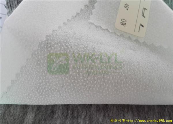 工厂直销裕纺5533耐水洗双点纸衬_服装专用纸衬