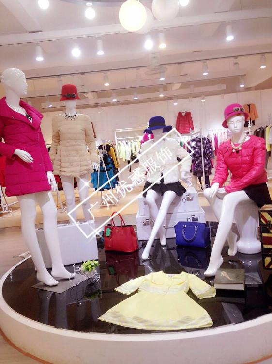 朵以冬装广州品牌女装一手货源折扣批发