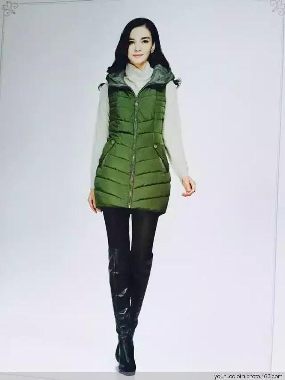 杭州正品 反促销布石冬装羽绒服品牌女装一手货源走份