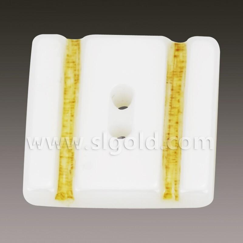 白色陶瓷纽扣镶树脂纽扣 天然纽扣