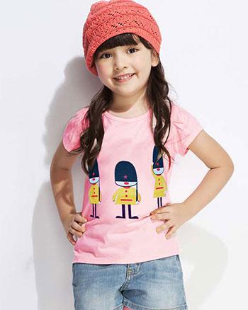 童装夏装批发市场夏季短袖童装t恤批发