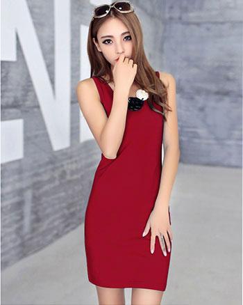 日系小清新连衣裙甜美气质连衣裙低价百褶淑女连衣裙货源