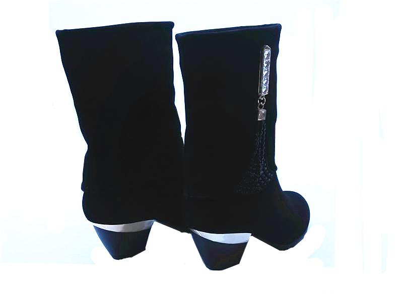 2014新款秋季女鞋代理_高品质的时时秀中高流苏女靴价位