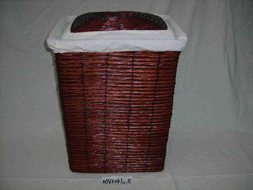 最好的柳编洗衣篓厂家在哪里 安徽柳编洗衣篓生产厂家