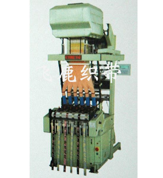 飞鹿织带机械供应低价电脑提花织带机 轧头机专卖店