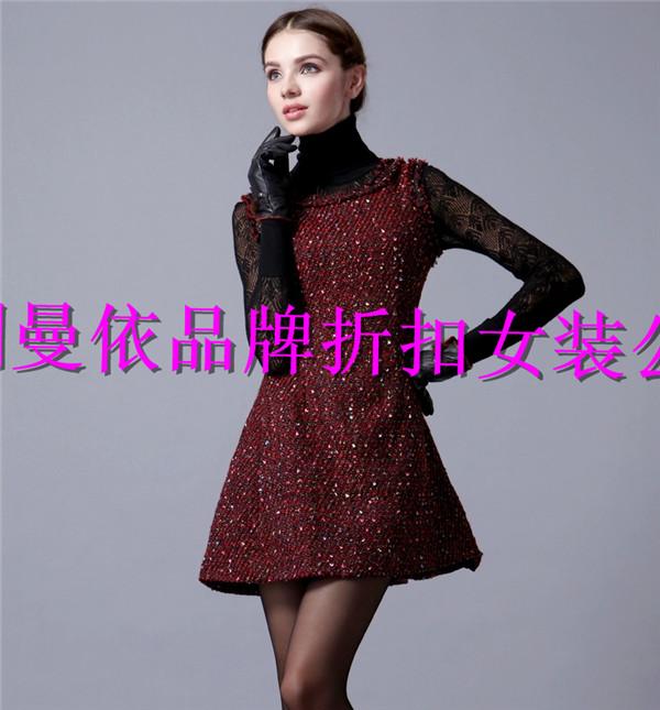 深圳品牌折扣女装外贸原单库存尾货服装一手货源超低价批发